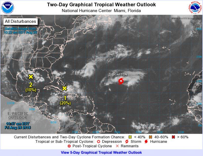 noaa tropical weather outlook