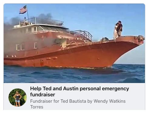 Tedtanic Facebook fundraiser