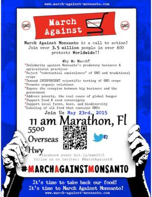 March Against Monsanto Without Leaving Your House