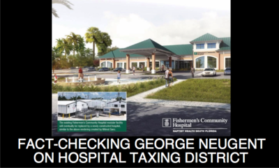Fact-Checking George Neugent on Middle Keys Hospital Tax