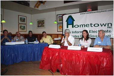 Hometown! Reminds Voters of the First Primary Q. and A. Forum - July 25 at TSKW - the Second Primary Forum will be August 8