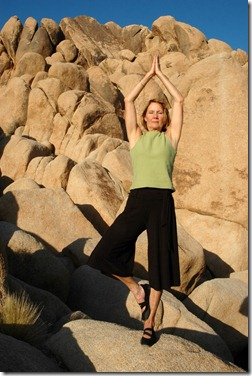 Senior Woman Tree Pose