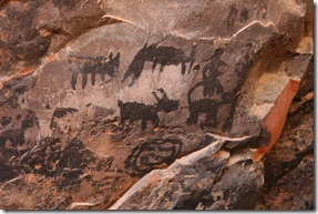 rock painting in Sedona Arizona