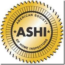 ASHI home inspector logo