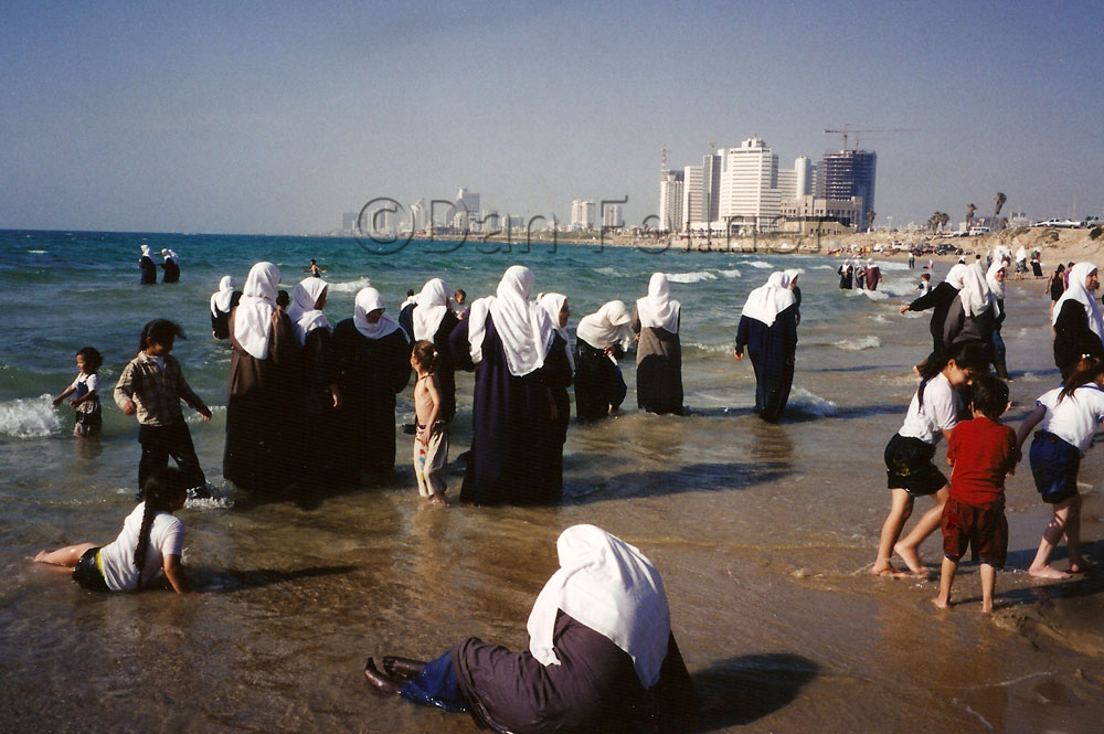 Photo Essay:  Cooling off in the Mediterranean