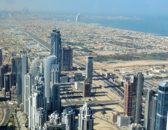 Dubai:  View from the top of the world