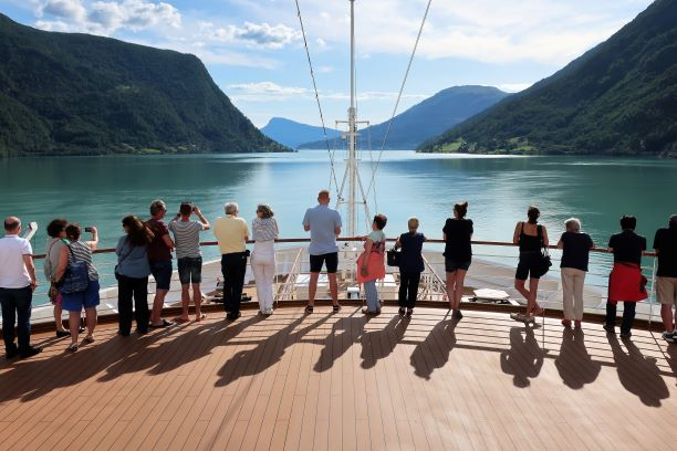 Cruising the Sognefjord