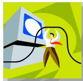 bizman connecting with computer
