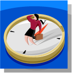 lady on compass