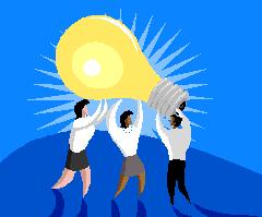 team lightbulb