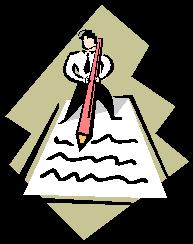 paper pen person
