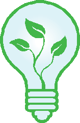 plant lightbulb