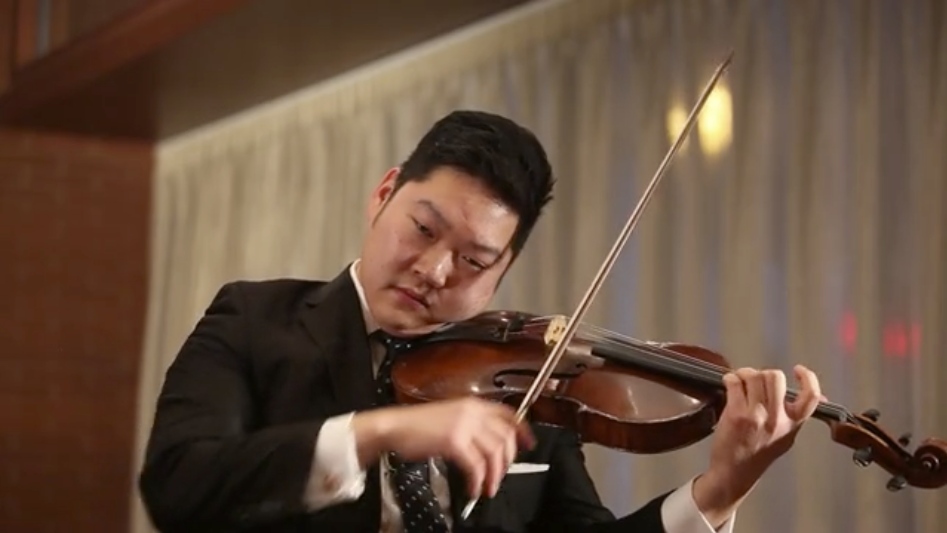 Marvin Moon, violist for the Philadelphia Orchestra