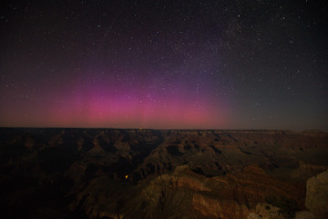 Grand Canyon Aurora Borealis