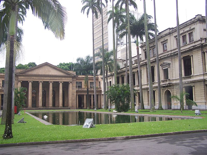 Palácio do Itamarati em Brasília