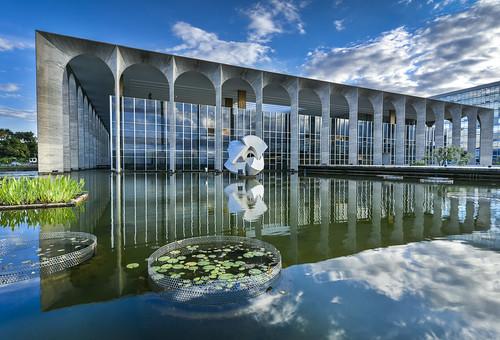 Palácio do Itamarati em Brasília. Site www.mre.gov.br