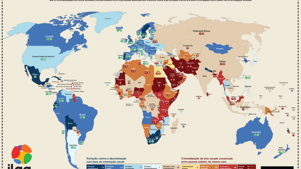 Uniões Homoafetivas: um Panorama atual pelo Mundo