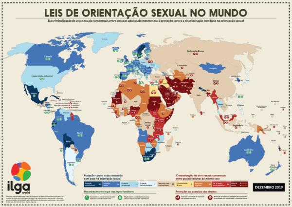 UNIÕES HOMOAFETIVAS: UM PARANORAMA ATUAL PELO MUNDO