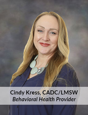Cindy Kress CADC LMSW