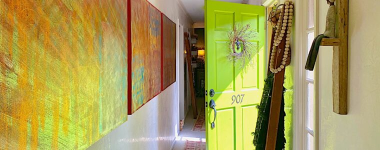 Unique Styling Solutions For Our Unusual Entry Hallway