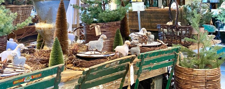 The French Farmer's Wife Holiday Barn Sale in Kernersville, NC.