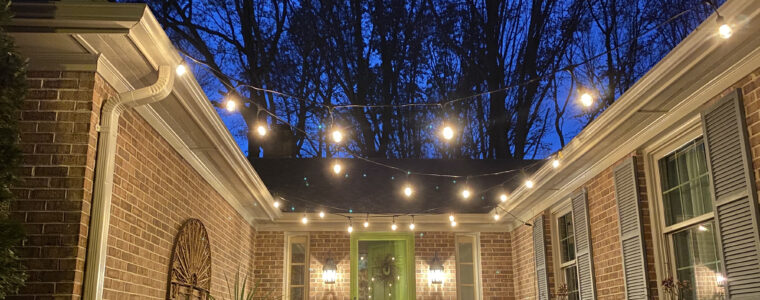How We Brightened Up Our Front Courtyard