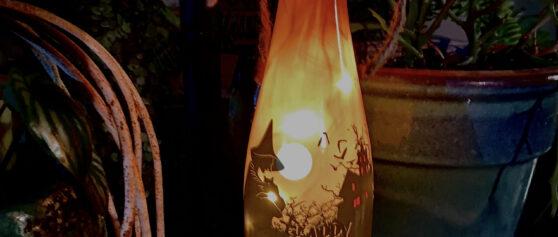 Drink Wine, Then Make This Halloween Lantern