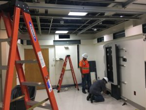 Deinstalling a Philips x-ray room