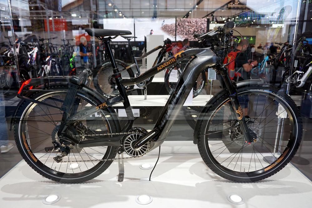 prototype 2019 Haibike Sduro touring e-bike with new TQ 120S high power motor