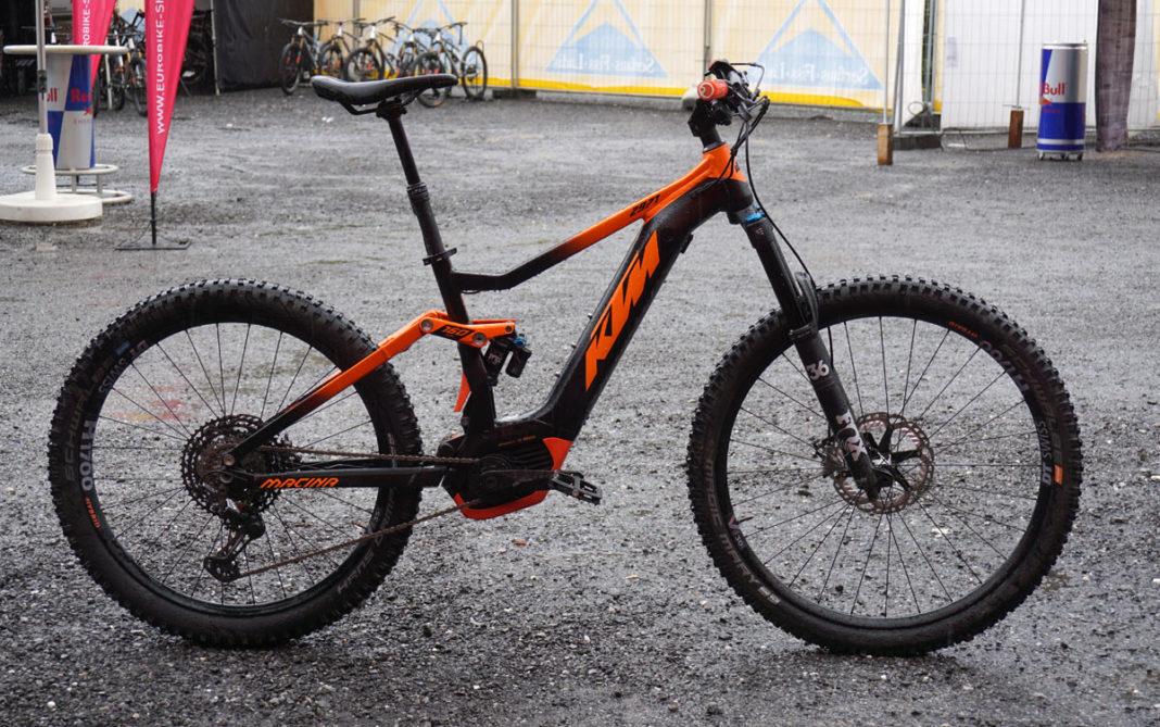 2019 KTM Macina 2971 eMTB enduro mountain bike
