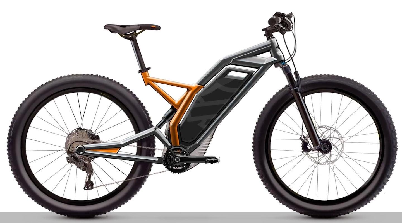 2022 harley davidson concept eMTB e-bike pedal assist mountain bike