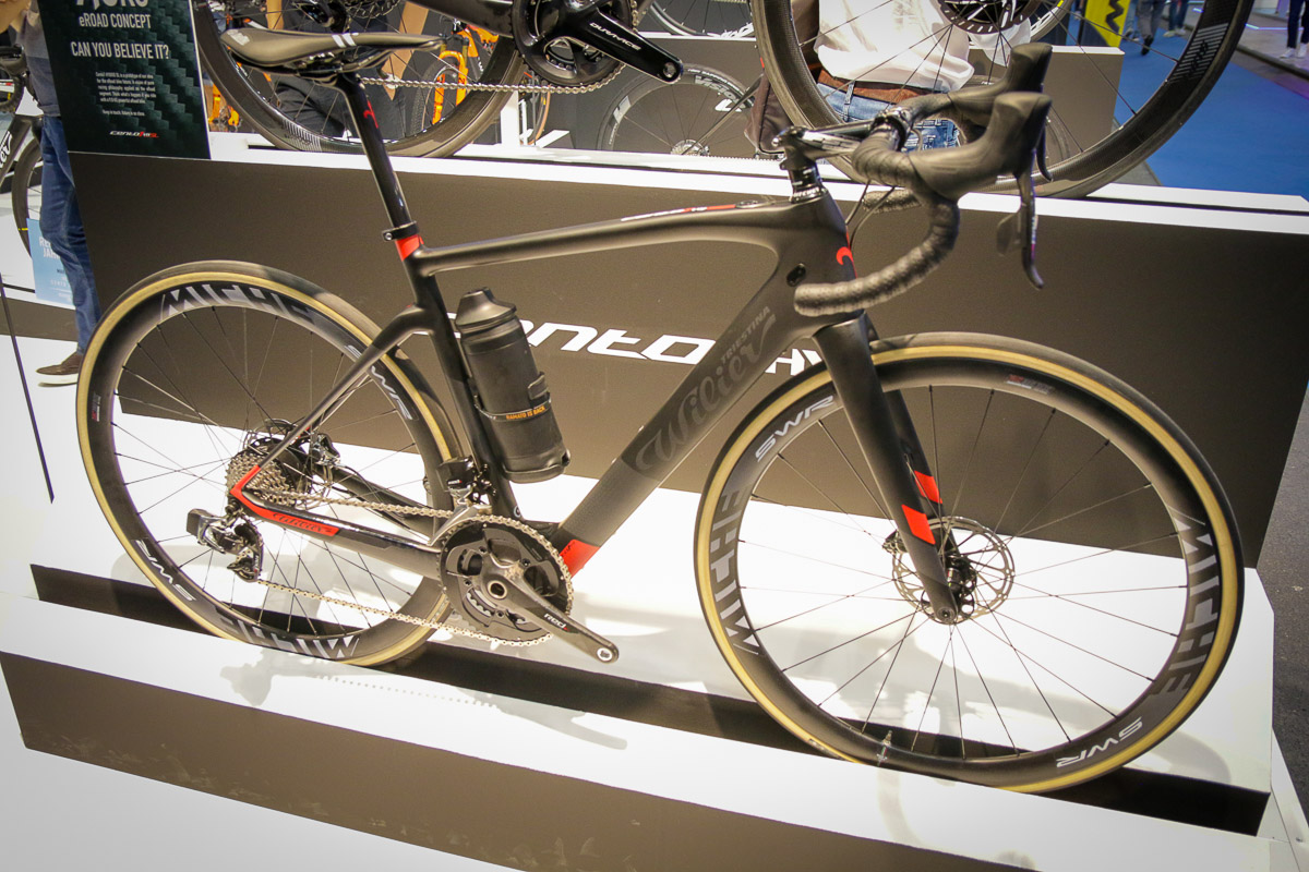 Wilier claims lightest e-road bike at 9.8kg & smart features like integrated heart rate control