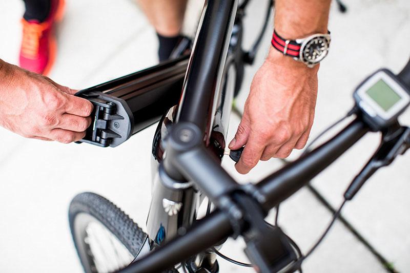 Trek 2019 Dual Sport+ e-bike, battery