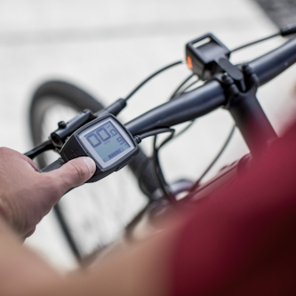 Trek 2019 Dual Sport+ e-bike, Bosch display and headlight