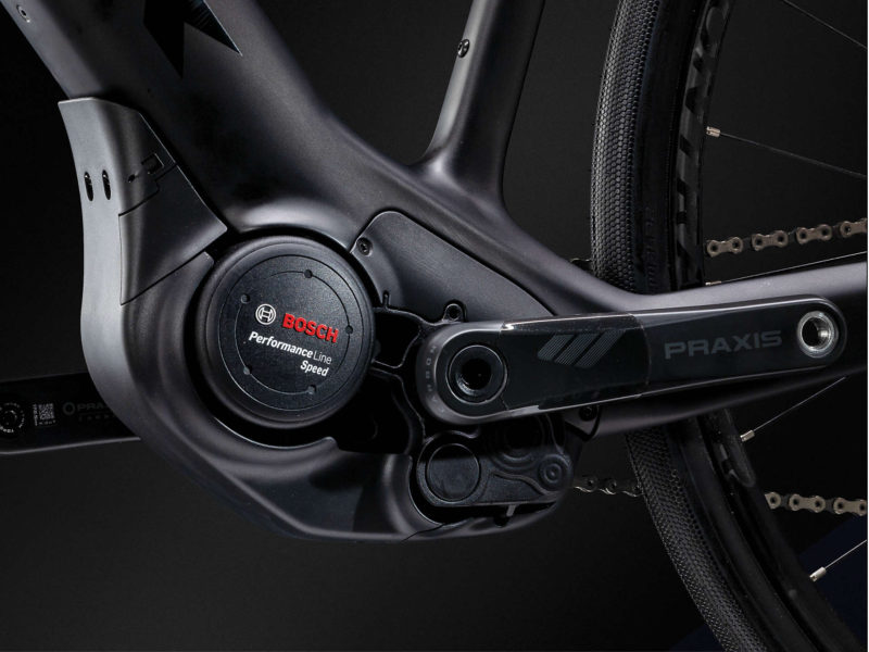 Trek Domane+ e-bike E-road bike electric bike Bosch Performance series motor