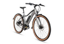 Priority Embark e-bike, angle