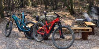 new BMC Trailfox AMP SX long travel eMTB and alloy Speedfox AMP e-mountain bikes