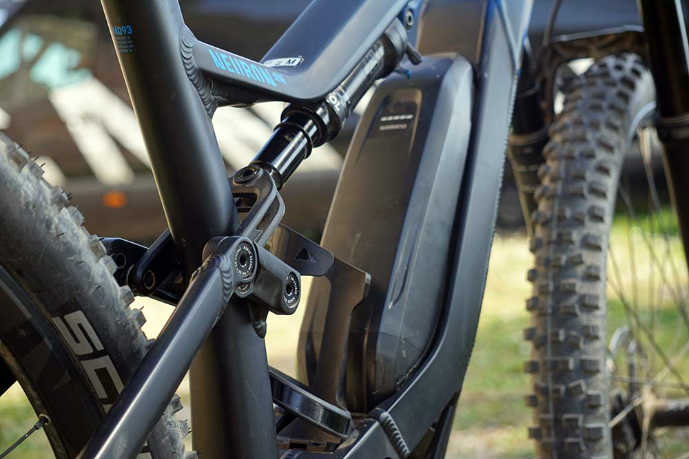 2019 Canyon Neuron ON electric assist e-mountain bike tech details specs and ride review