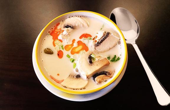 Tom Ka Kai Soup