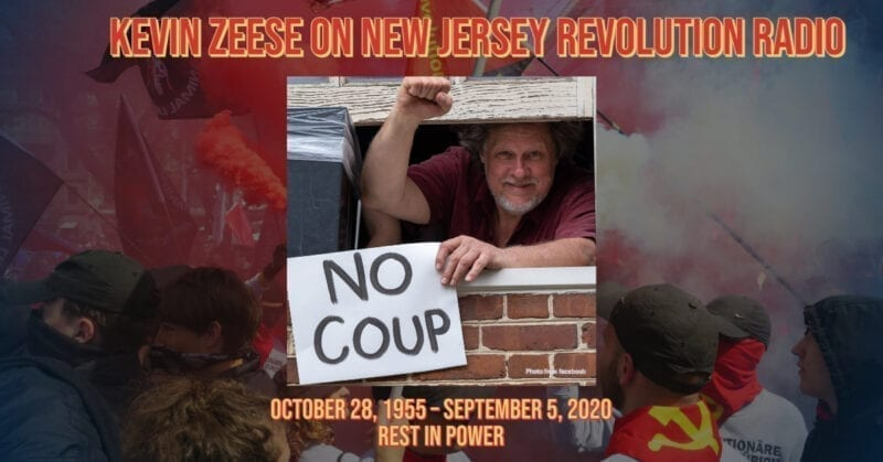 Kevin Zeese Appearances on New Jersey Revolution Radio