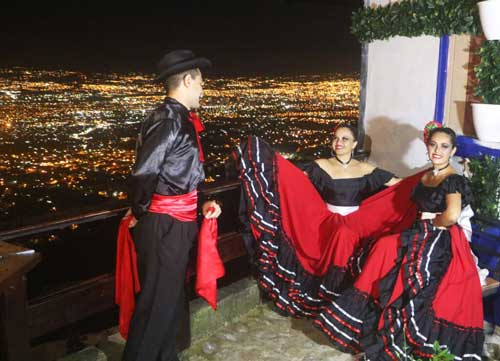 Folkloric dance show
