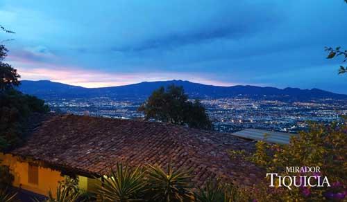 Oue view Mirador Tiquicia