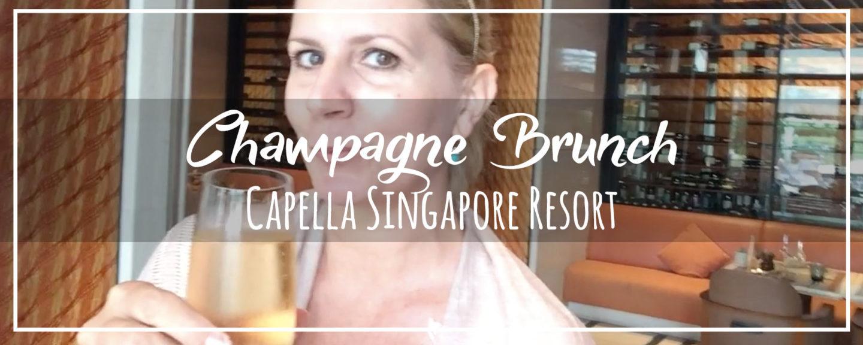 Capella Singapore Champagne Sunday Brunch | The Knolls on Sentosa Island