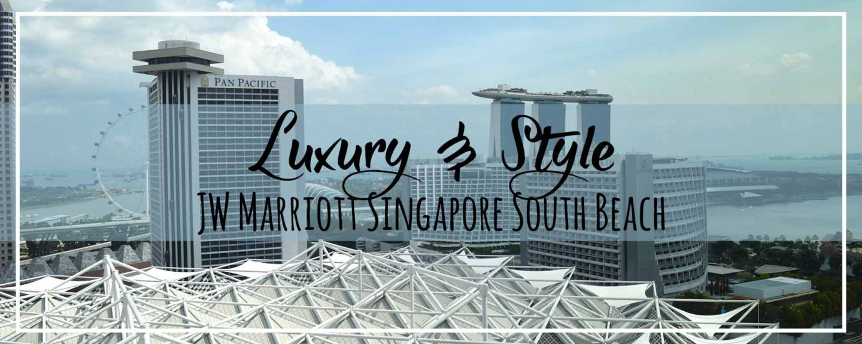 JW Marriott Hotel Singapore South Beach Executive Club & Property Tour
