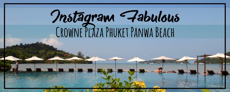 Hotel Tour   Crowne Plaza Phuket Panwa Beach, Instagram Fabulous!
