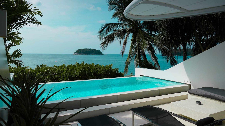 Phuket   Kata Rocks Oceanfront Villas (Review for FEMALE Mag)