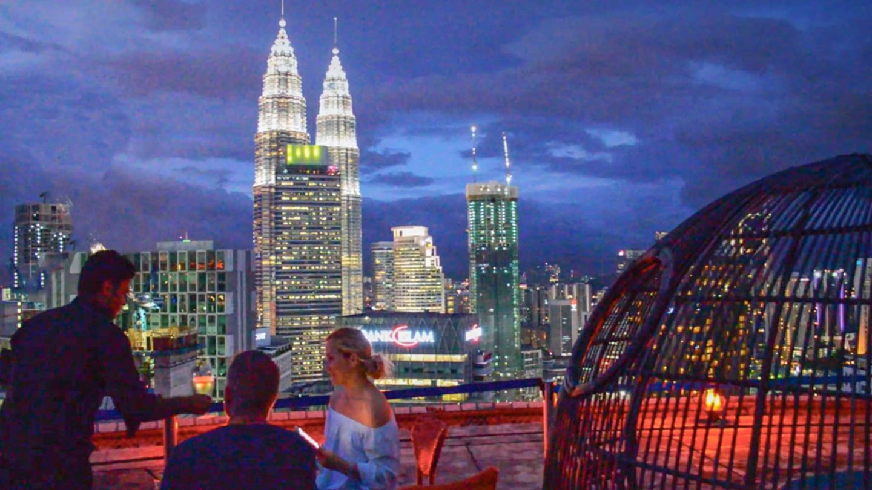 Kuala Lumpur   Heli Pad Lounge Best Rooftop View
