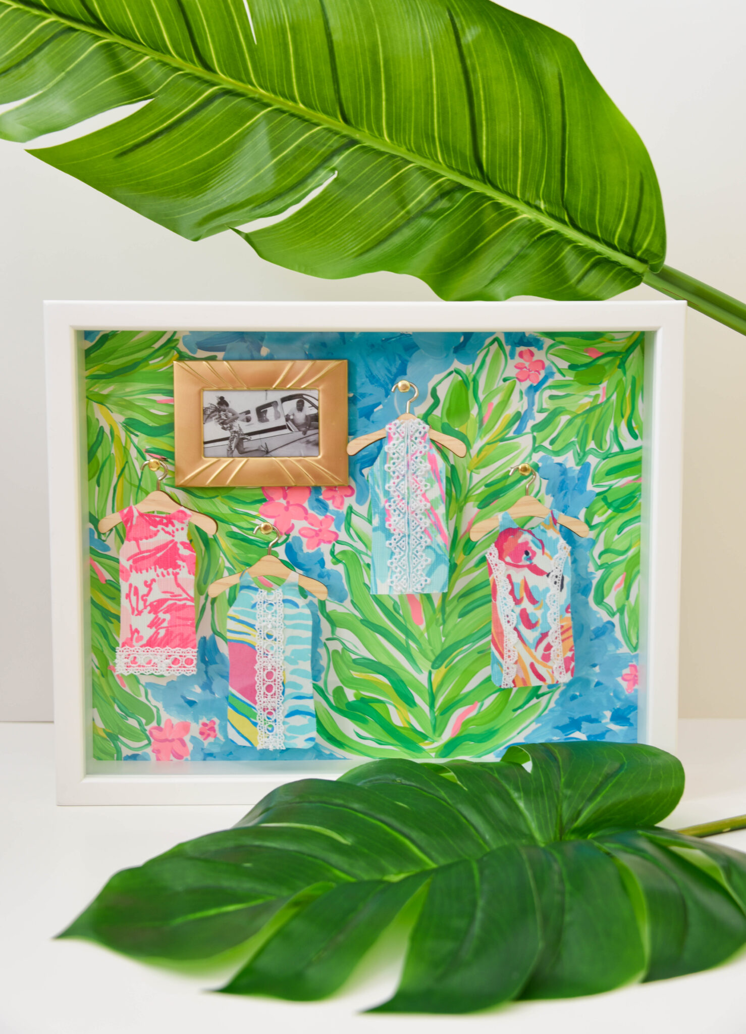 Lilly Pulitzer Shadow Boxes