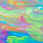 Abstract Painting Rachel Hunt