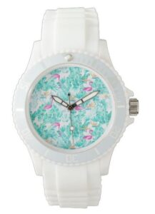 Tropical Flamingo Watch